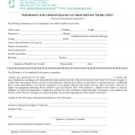 PermissionforAdministrationofMedication_Prescription